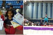 Vanika Sharma of Class 7 C and Swarnlika Sharma of Class 4C