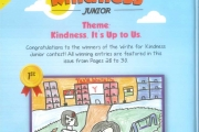 Write for Kindness Contest - Junior Category